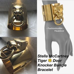 🆕Stella McCartney Tiger Door Knocker Bangle